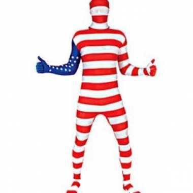 Morphsuit original Amerika voor carnaval