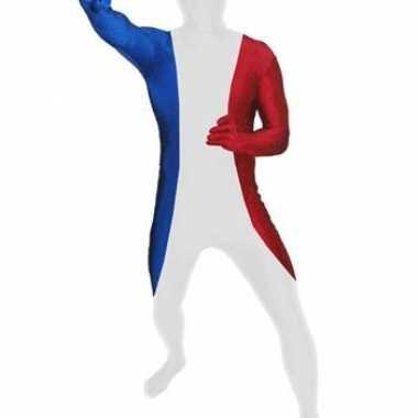 Morphsuit original Frankrijk voor carnaval