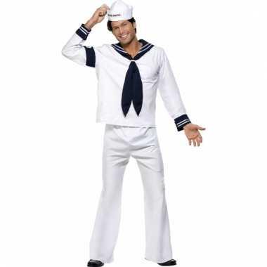 Navy matroos carnavalskleding heren voor
