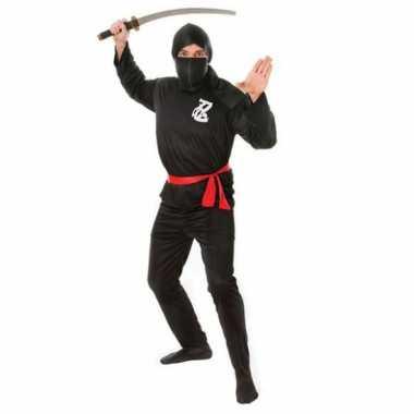 Ninja carnavalskleding volwassenen voor