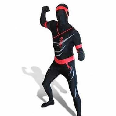 Ninja Zentai carnavalskleding volw. voor
