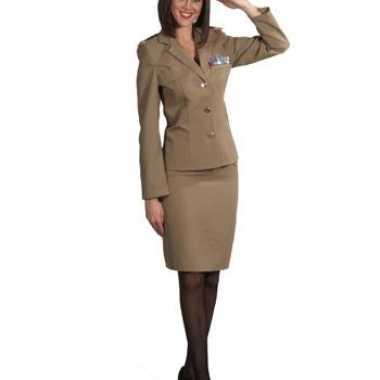 Officier rok met jasje dames voor carnaval