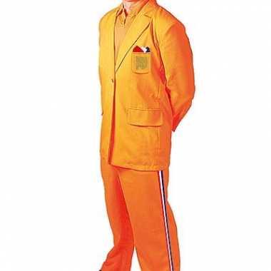 Oranje kostuum Bobo voor carnaval