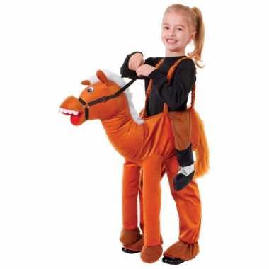 Paardrij kostuum voor kinderen carnaval