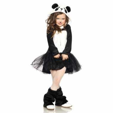 Pandabeer jurkje voor meisjes carnaval
