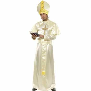 Paus kostuum compleet voor carnaval
