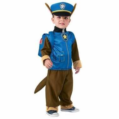 Paw patrol verkleedpak chase voor carnaval