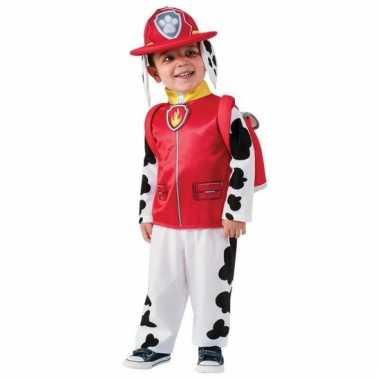 Paw patrol verkleedpak marshall voor carnaval