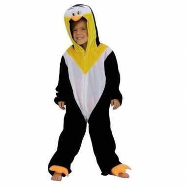 Pinguin overall voor kinderen carnaval