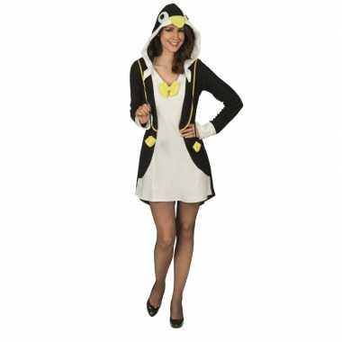 Pinguin verkleedjurk voor dames carnaval