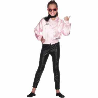 Pink Ladies jasje voor kids carnaval