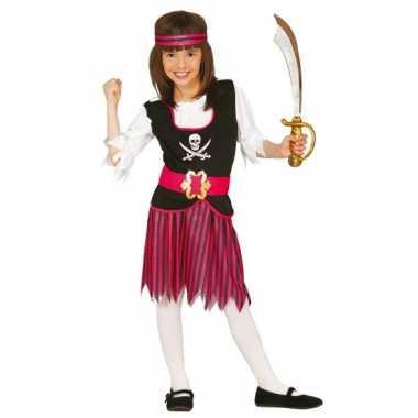 Piraten rokje met hesje voor meisjes carnaval
