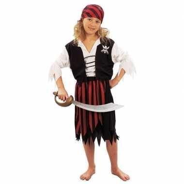 Piraten verkleedkleding voor meiden carnaval