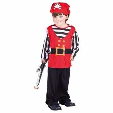 Piraten verkleedkleding voor peuters carnaval