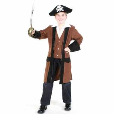 Piratenjas met overhemd voor kinderen carnaval