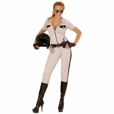 Politie pak usa beige voor dames