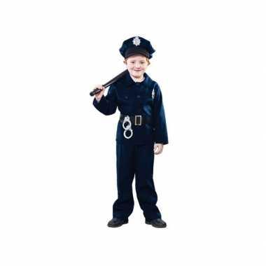 Politie verkleed kostuum voor kinderen carnaval