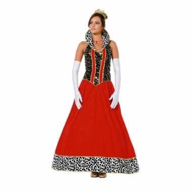 Prinsessen outfit voor dames carnaval