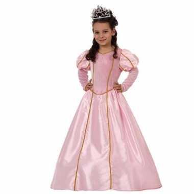 Prinsessen verkleedjurk roze voor carnaval