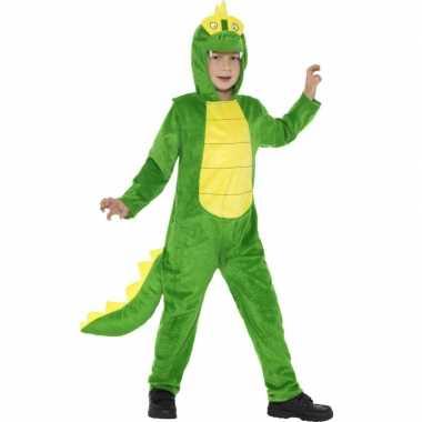 Pyamapak krokodil voor jongens en meiden carnaval
