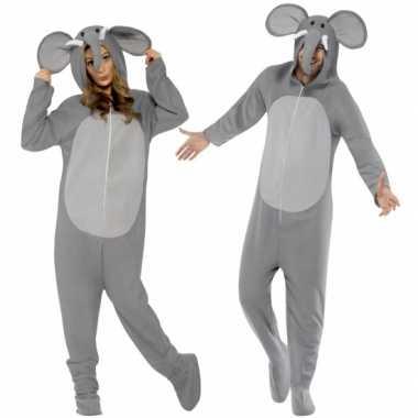 Pyamapak olifant voor dames en heren carnaval