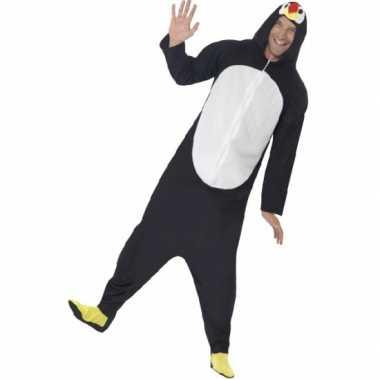 Pyamapak pinguin voor dames en heren carnaval