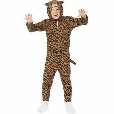 Pyamapak tijger voor jongens en meiden carnaval