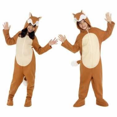 Pyamapak vos voor jongens en meiden carnaval
