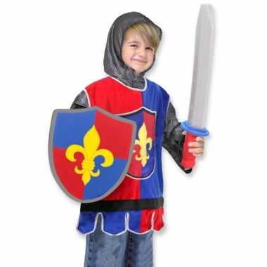 Ridder kostuum voor jongens carnaval