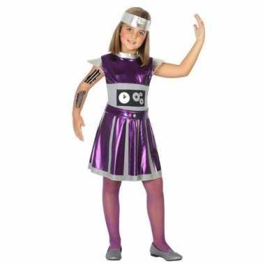 Robot verkleed jurk/jurkje voor meisjes carnaval