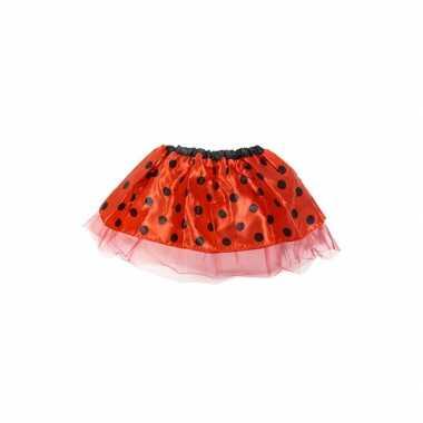 Rode ballet verkleedkleding voor meisjes carnaval
