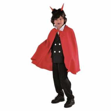 Rode duivels cape kinderen voor carnaval