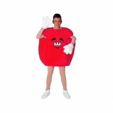Rode snoep verkleedkleding voor carnaval