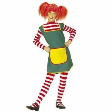 Roodharig meisje pak voor meiden carnaval