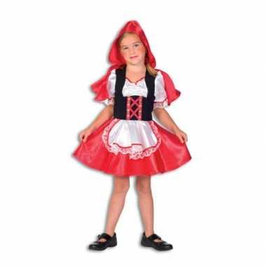 Roodkapje carnavalskleding kind voor