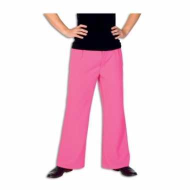 Roze broek voor heren carnaval