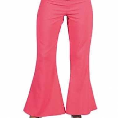 Roze hippie carnavals dames broeken voor