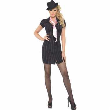 Sexy gangster jurk carnavalskleding voor