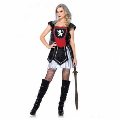 Sexy ridder jurkje voor dames carnaval