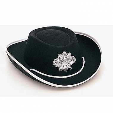 Sheriff hoed voor kinderen carnaval