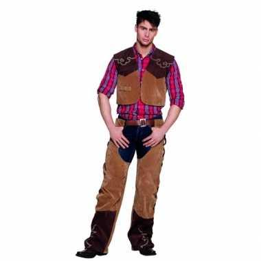 Sheriff kostuum bruin voor carnaval