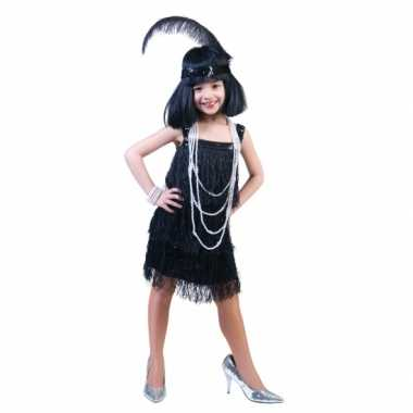 Showgirl outfit voor kids carnaval