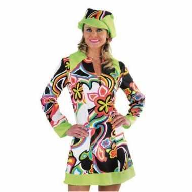 Sixties jurkje dames voor carnaval