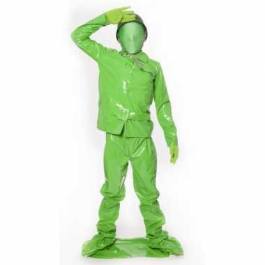 Speelgoed soldaat kids kostuum voor carnaval