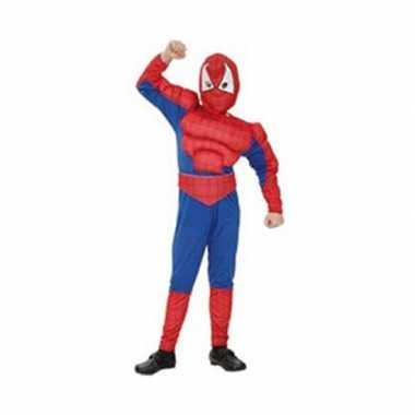 Spinnenheld jumpsuit voor jongens carnaval