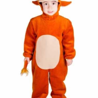 Stier jumpsuit voor kinderen carnaval