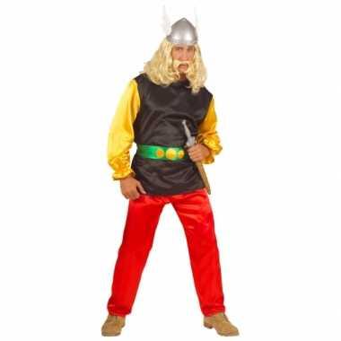 Stripfiguur kostuum Gallier voor carnaval