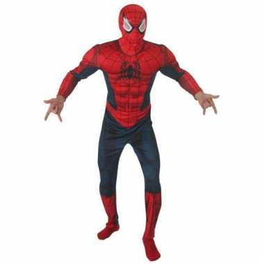 Stripheld Spiderman kostuum deluxe voor carnaval