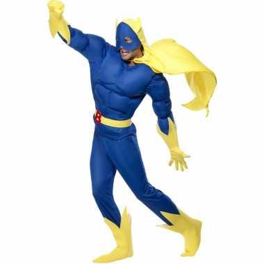 Superheld Banana Man kostuum voor carnaval