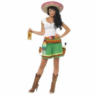 Tequila verkleedkleding voor dames carnaval